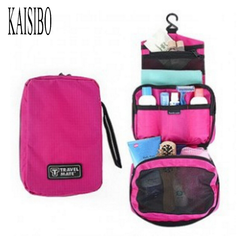 KAISIBO Women Men Travel Cosmetic Bags Organizer Large Waterproof Makeup Necessaries Hanging Make Up Wash Toiletry Bag pants ruck