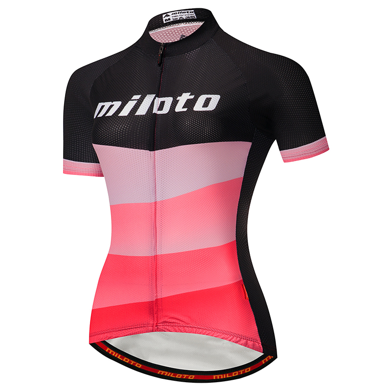 Cycling Jersey Shirt Short-Sleeve Bike Ciclismo Racing Maillot Breathable Women Summer