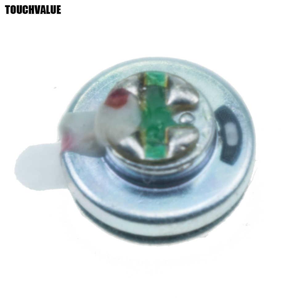 1 adet 10mm kulaklık hoparlör grafen yüksek dereceli beyaz manyetik ateş Subwoofer hareketli bobin ünitesi 6u kulaklık DIY parçaları sürücü