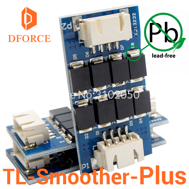 DFORCE 3 pieces/pack TL-smoother PLUS addon module for 3D pinter motor drivers motor Driver Terminator reprap mk8 i3