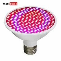 LED Grow Lights 20W 200 LED Plant Grow Light Full Spectrum E27 Red Blue Hydroponic Flower