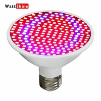 LED Grow Lights 20W 200 LED Plant Grow Light Full Spectrum E27 Red Blue Hydroponic Flower
