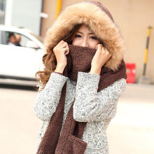 Sweet Hats Glove and Scarf Set Women