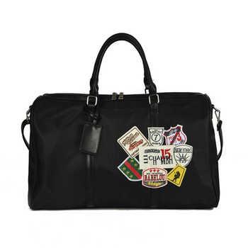 Women Travel bags Fashion Nylon Big Travel Handbag Folding Trip Bag Large Capacity Luggage Travel Duffle Bag Business Handbag