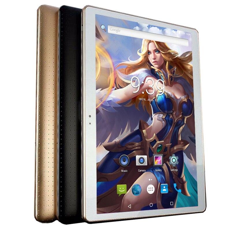 2019 最新の 10 インチのアンドロイド 8.0 タブレット PC 4 ギガバイトの RAM 64 ギガバイト ROM 1280*800 IPS 5.0MP オクタコア 3 グラム WCDMA 4 4G LTE デュアル SIM カード + キーボード  グループ上の パソコン & オフィス からの Android タブレット の中 1