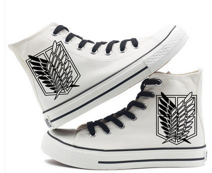 ATTACK ON TITAN HIGH TOP SHOES (7 VARIAN)