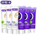 Saky toothpaste in the morning and evening Three-dimensional strength white Breath is 65 g * 6