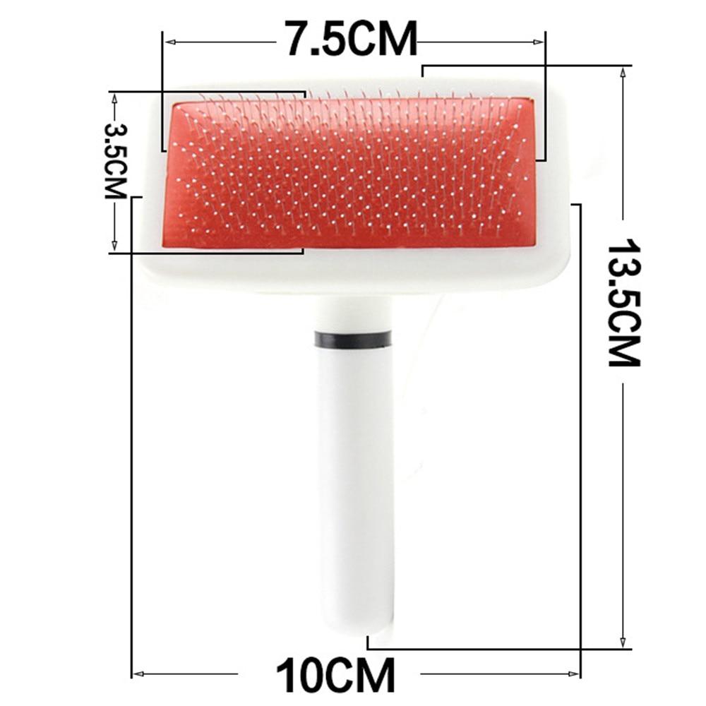 Handle Shedding Pet Dog Hair Brush Pin Fur Grooming Trimmer Comb 1 PC