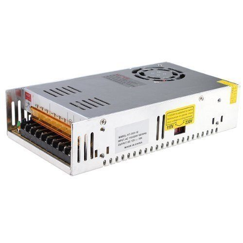 12V 30A DC Universal Regulated Switching Power Supply 360w for CCTV, Computer, 3D Printer 360w 12v 30a switching power supply industrial power supply safety equipment power supply