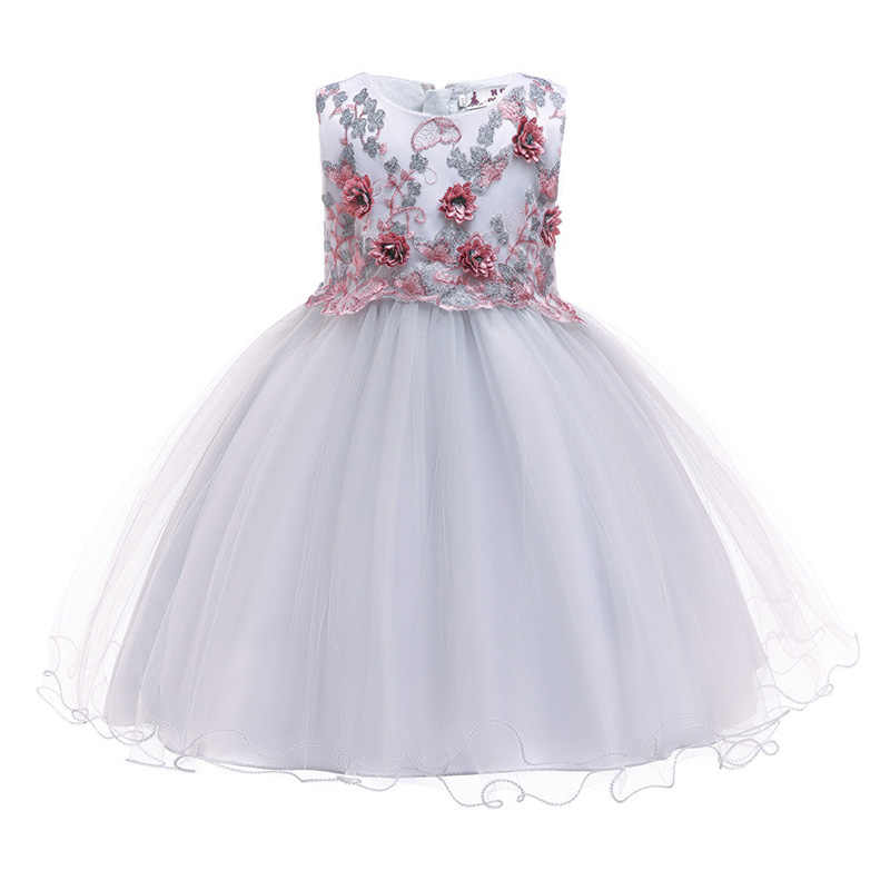 865acc437d7 New Arrival Flower Girls Dress Wedding Birthday Party Princess Dress For  Girls For 3--