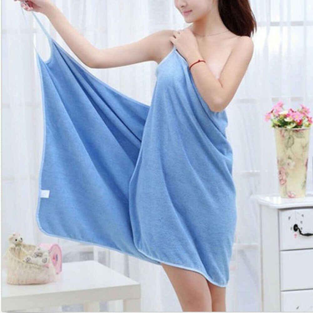 ホームテキスタイル TowelWomen ローブバスウェアドレスの女の子の女性レディース女性速乾性ビーチスパ魔法ナイトウェア睡眠