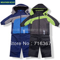 Free Shipping -children kids boys/girls snowsuit, kids ski suit, kids windproof jacket, windproof pants(MOQ: 1 set)