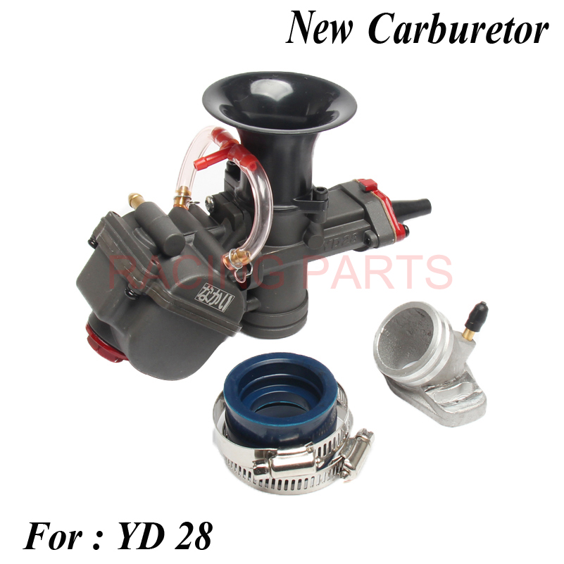 28mm Carburetor with power jet For MAIKUNI Keihin PWK YD 28 ATV Buggy Quad Go Kart dirt bike Motorcycle RACING PARTS Scooter