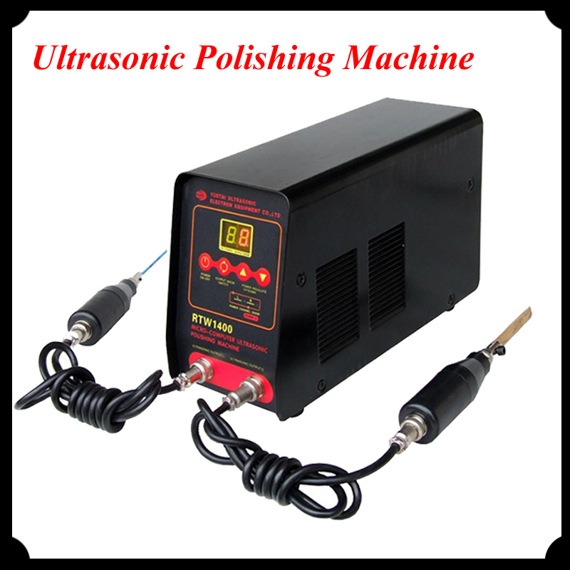 1pc Mini Ultrasonic Polishing Machine Surface Treatment Machinery RTW1400 1pc rtw1400 mini ultrasonic polishing machine surface treatment machinery