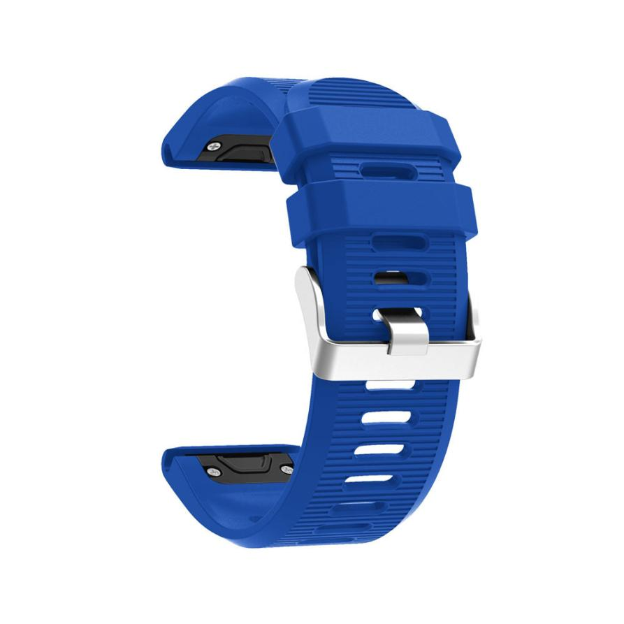 New Replacement Silicagel Soft Quick Release Kit Band Strap For Garmin Fenix 5X GPS Watch drop shipping nov3