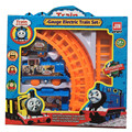 1 set Thomas And Friends Electric Track Train Mini Model Thomas Train Cartoon Figures Opp Packing Kid Gift Toy