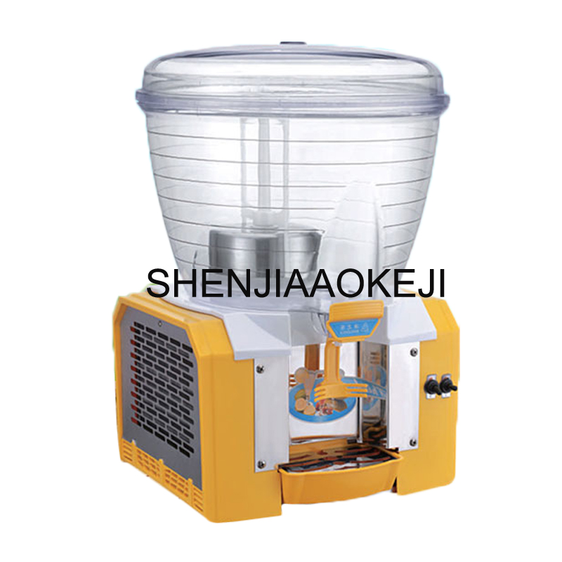 Commercial Cold Drink dispenser 30L Round Cylinder Juicer single cylinder beverage machine Spraying Juice container PL-130A 220V