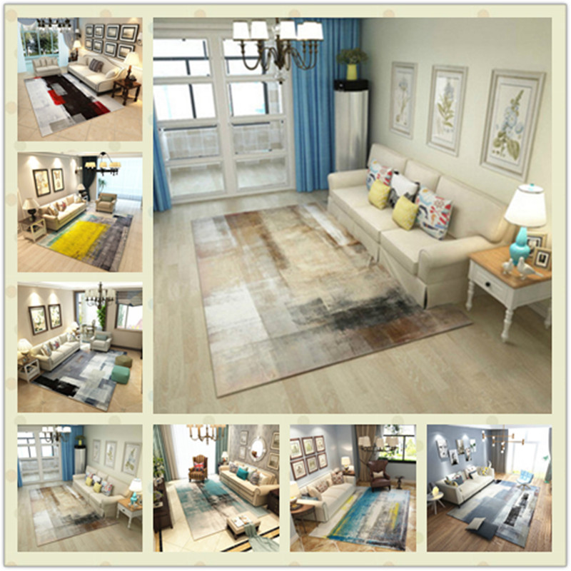 Household rug for living room large Area Decor carpet Colorful Bedroom Floor Mat Rugs bathroom Antiskid Soft Rectangle CarpetsHousehold rug for living room large Area Decor carpet Colorful Bedroom Floor Mat Rugs bathroom Antiskid Soft Rectangle Carpets