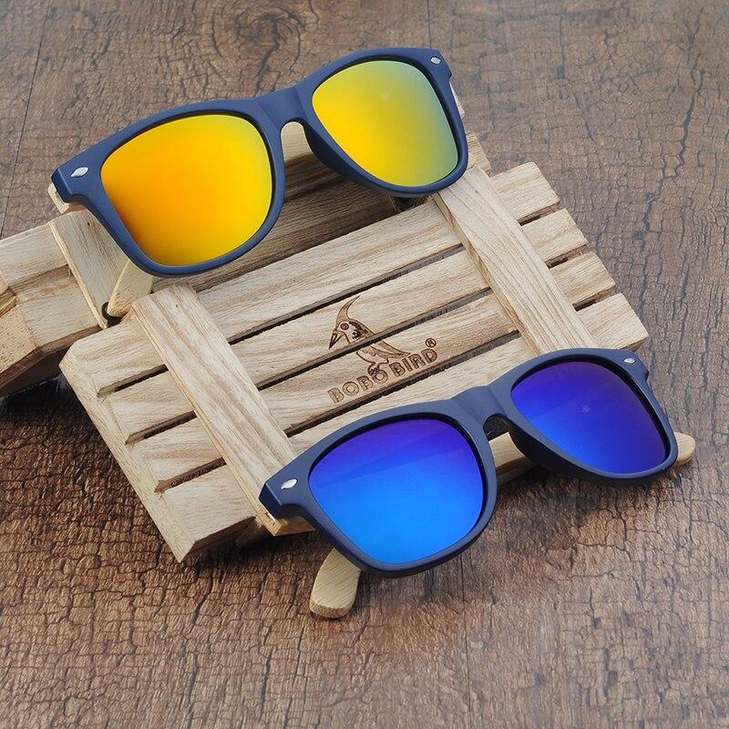 BOBO BIRD Bamboo Retro Polarized Wooden Sunglasses 11
