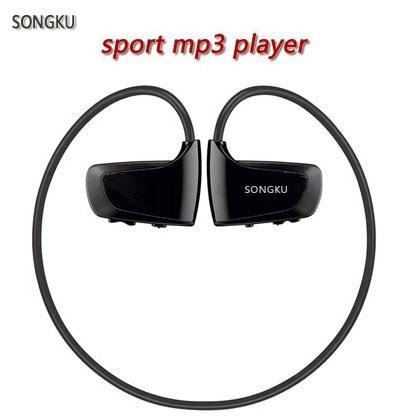 SONGKU W262 8GB Mp3 Player Sport MP3 Music Player Earphone Headphone Runing Gym Mp3 Player japan anime katekyo hitman reborn wallet cosplay men women bifold coin purse