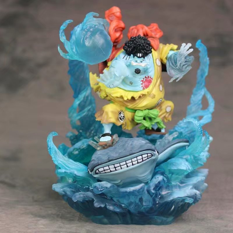 Anime One Piece Sun Pirates Jinbe 1/8 scale painted figure Battle Damaged Ver.PVC Action Figure Collectible Model Toy BrinquedosAnime One Piece Sun Pirates Jinbe 1/8 scale painted figure Battle Damaged Ver.PVC Action Figure Collectible Model Toy Brinquedos