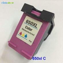 1PC For HP Deskjet 1015 1515 2515 2545 2645 3515 4645 Cartridge 650 Tri-color Ink