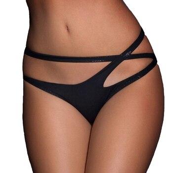 Negro cintura abierta Sexy bragas de las mujeres Sexy ropa interior Mujer ropa interior erótica Plus tamaño bragas Sexy de gran tamaño ropa damas ropa interior