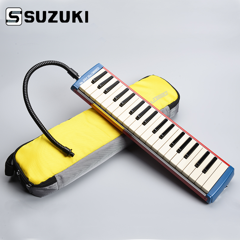 Suzuki Alto M-37C Plus Keyboard Harmonica Melodion Alto Melodica with Case Professional Performance alto ts210