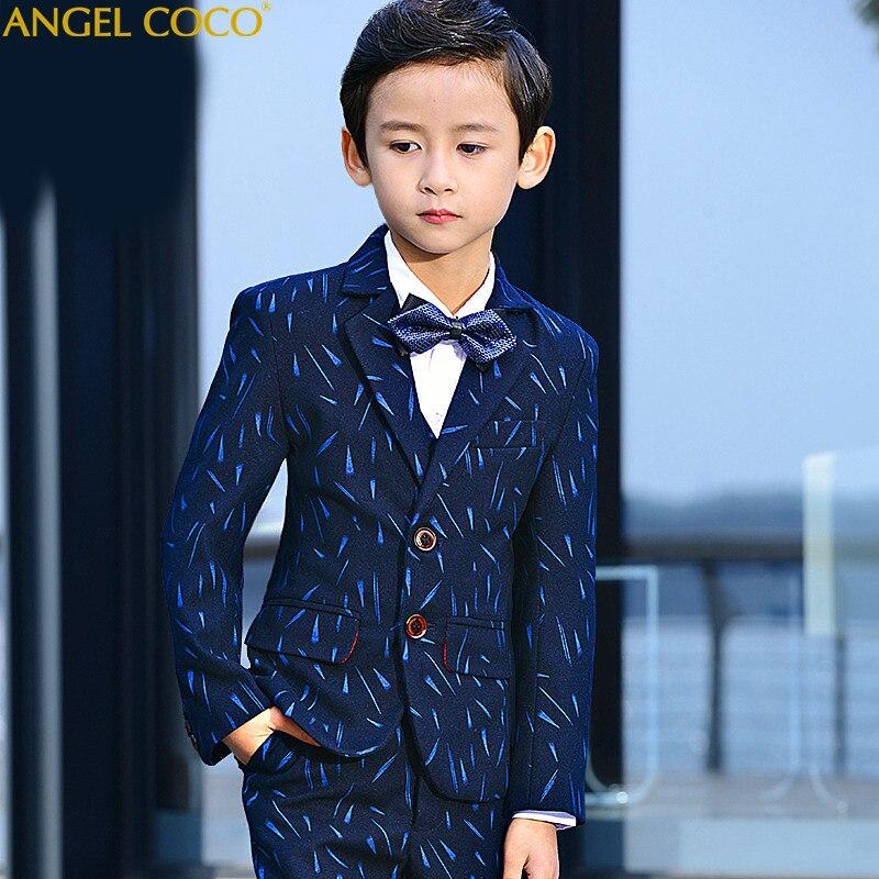 Boys Suit Big Children'S Baby Piano Performance Dress Boy Ko