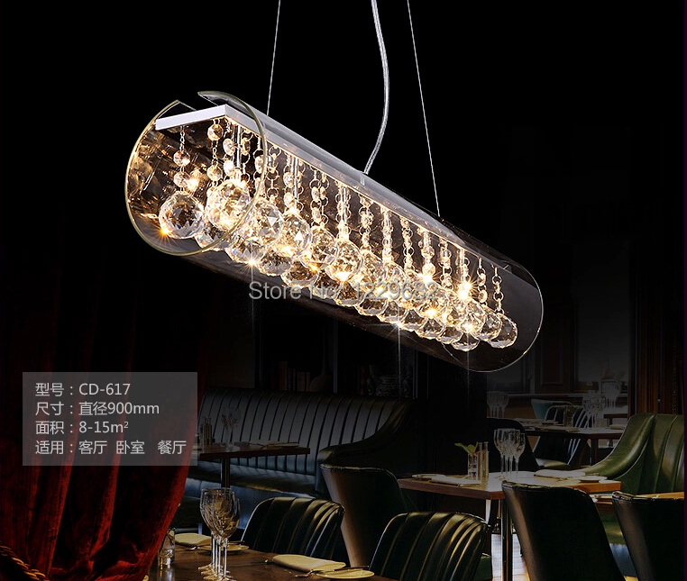 2017 Hot Modern Best Pub Saloon Concept Lamp Bar Design 60 90 120cm Chandelier Light For Restaurant Dining Room In Pendant Lights From