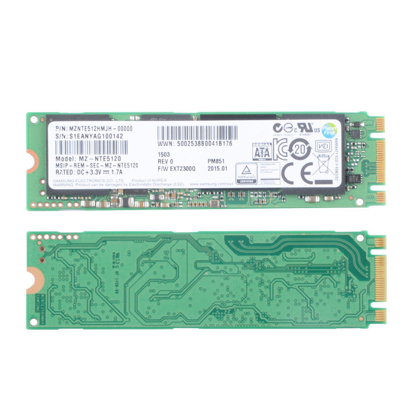 SAMSUNG PM851 512GB M.2 SSD Solid State Drive For Laptop Desktop (MZ-NTE5120) цена