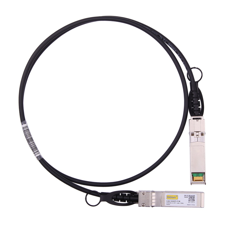 SFP-H10GB-CU1M 10G 1M SFP+ DAC кабель 10GBASE-CU пассивный прямой прикрепить медный Twinax SFP кабель также для Ubiquiti Mikrotik и т. Д