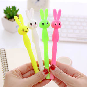 Stationery Gel-Pen Office-Supplies Rabbit-Head Fragrance Gift School-Material Novelty