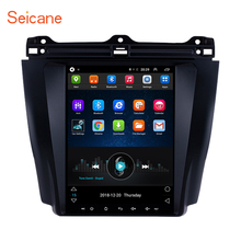Seicane 9.7 inch Android 6.0 Car GPS Navigation Radio for 2003-2007 Honda Accord 7 with AUX Steering Wheel Control 1080P Video цена