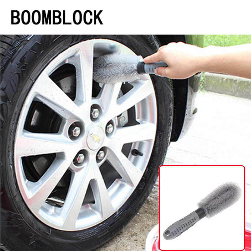 1Pcs Car Hub clean brush for Audi A3 A4 B6 B8 B7 B5 A6 C5 C6 Q5 A5 Seat Leon Mitsubishi ASX Outlander Lancer Accessories custom fit full cover car floor mats for audi a6 c5 c6 c7 a4 b6 b7 b8 allroad avant all weather waterproof car styling liners