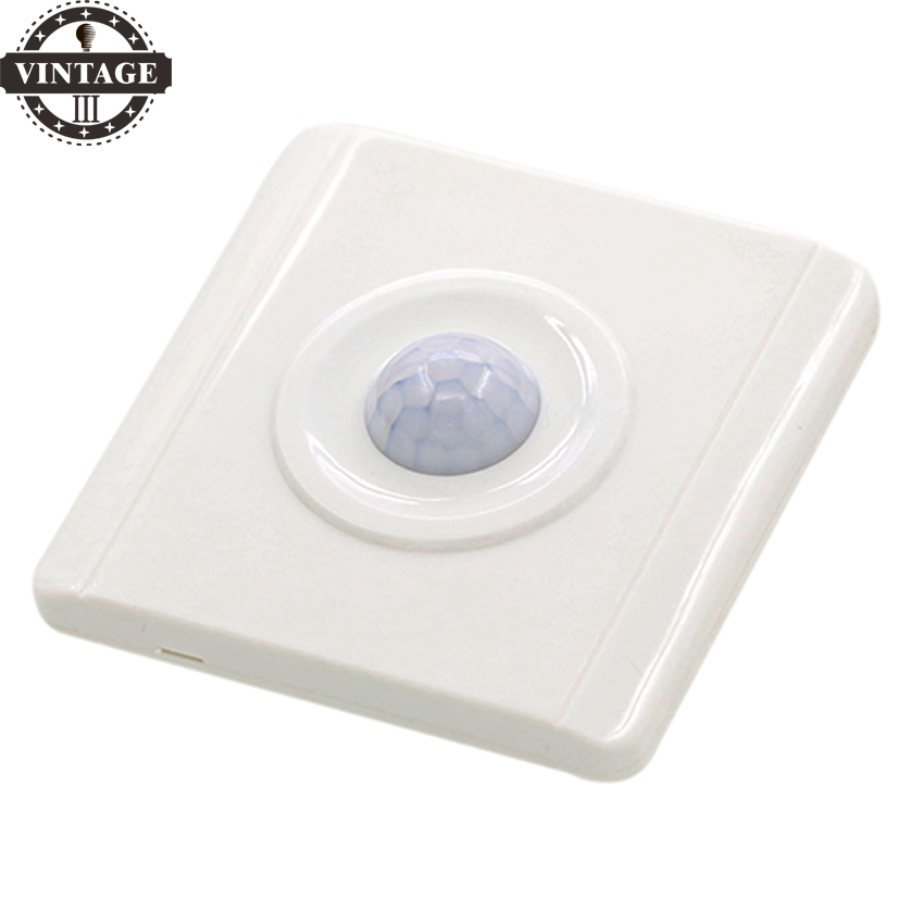 LightInBoxBody Motion Sensor Auto New Designed PIR Senser Infrared IR Switch Module On off Lights Lamps 6DVS