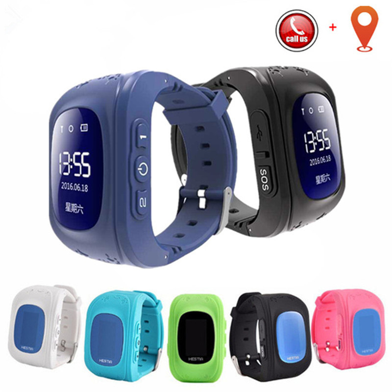 Children's Watch SOS Call Location Finder Anti Lost Support SIM Card GPS Smart Baby Watch for Caring for Children Smart Watch