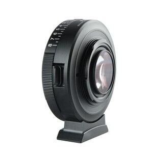 Image 5 - Viltrox NF M43X odak düşürücü hız yükseltici adaptör Turbo w/diyafram Nikon Lens için M4/3 kamera GH4 GH5GK GH85GK GF7GK GX7