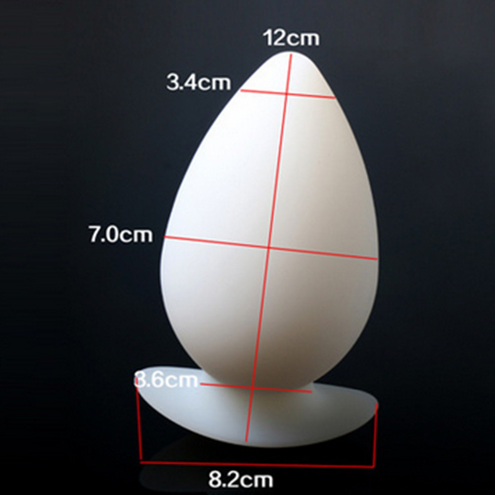 Huge Silicone Anal Toys Anus Butt Plug Stimulator In Adult Games , Erotic Sex Products For Women And Men - Dia 7 cm