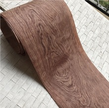 Length:2.5Meters  Width:20 Thickness:0.2-0.25mm Natural African Pear Bark Wood Veneer