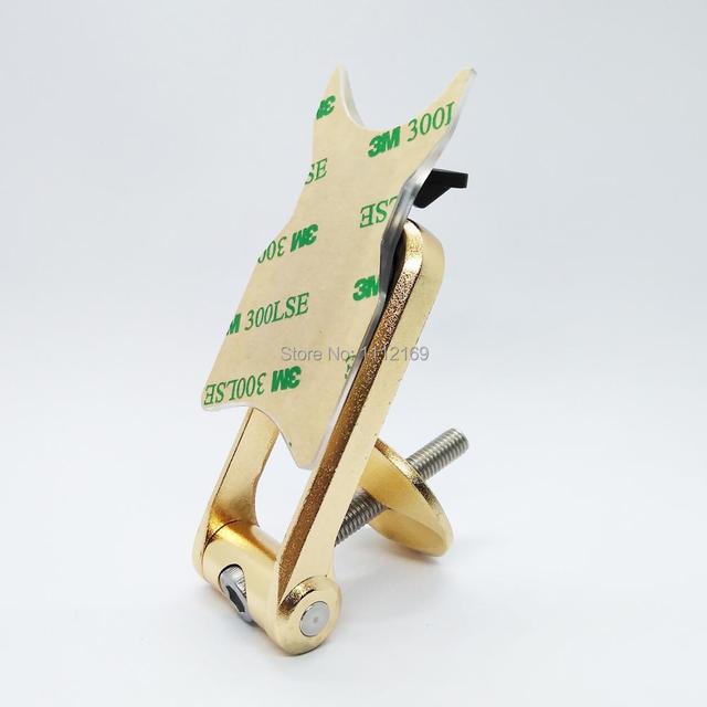 אוניברסלי חדש ClipGRIP Stemcap אופני הר מחזיק עם 3M קלטת דביק Pad עבור iPhone 6, 6 בתוספת, גלקסי S6, הערה 3/4 וכו