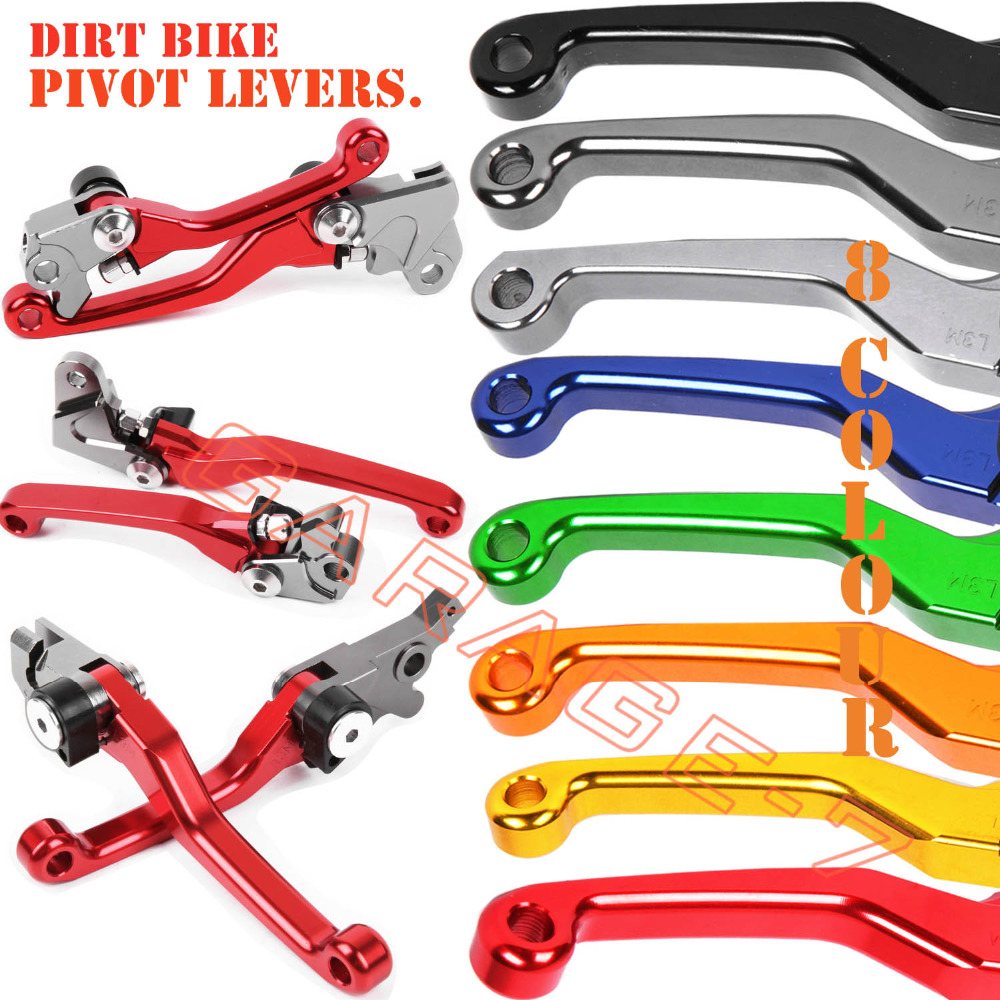 For Honda Crf150f Crf 150 F 150f 2003 2017 2016 2015 2014 2013 2012 Dirt Bikes 2011 2010 Cnc Pivot Racing Bike Clutch Brake Levers In Ropes Cables From