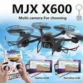 MJX X600 Безголовый Режим 2.4 ГГц 6 Оси Гироскопа RC дроны с 3D Ролл Камнем quadcopter пульт дистанционного управления вертолетом Один Ключ вернуться