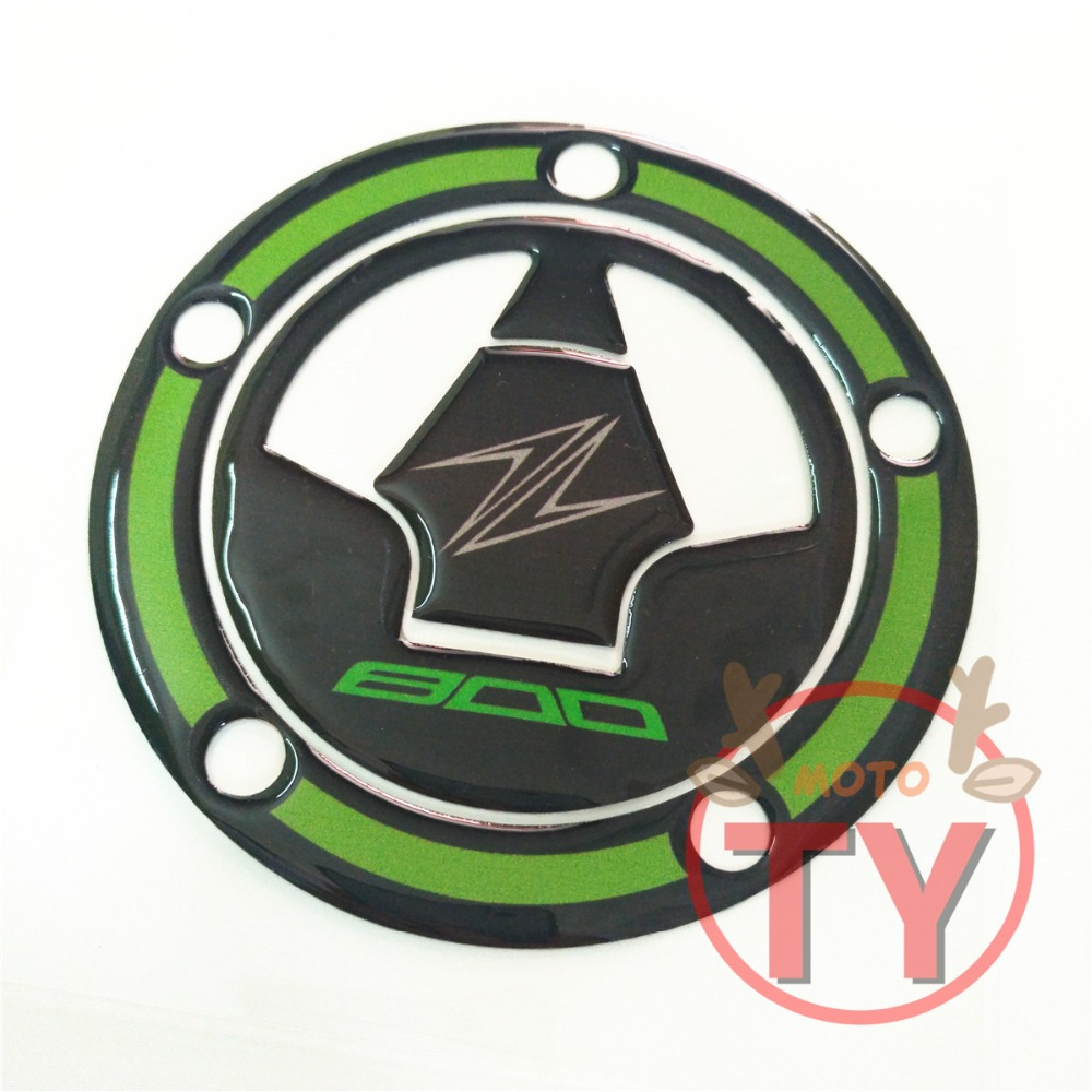 Motorcycle High Quality Applique Sticker Gas Cap Pad Stookolie Tank Pad Decorative Protector For Kawasaki Z800 Z 800