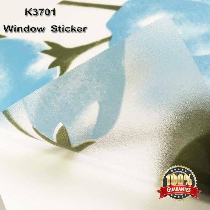 À la mode En Verre décoration film porte coulissante en verre anti-déflagrant gommage fenêtre autocollants fenêtre feuille 131ftx40m