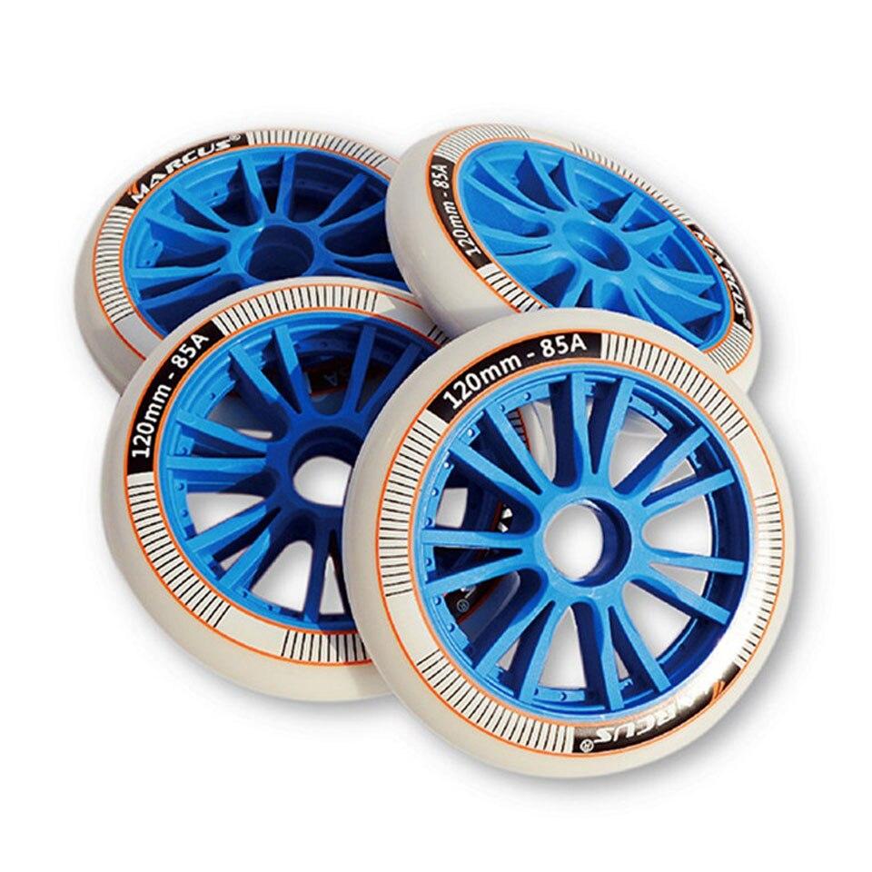 JAPY Inline Speed Skates Wheels 85A 120mm for Indoor Outdoor Asphalt Street Durable PU Racing Rodas
