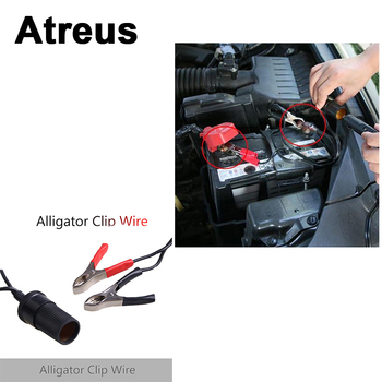 Atreus For Lexus Honda Civic Opel astra h j Mazda 3 6 Kia Rio Ceed Volvo Car Clip Cable Battery tran cigarette lighter interface image