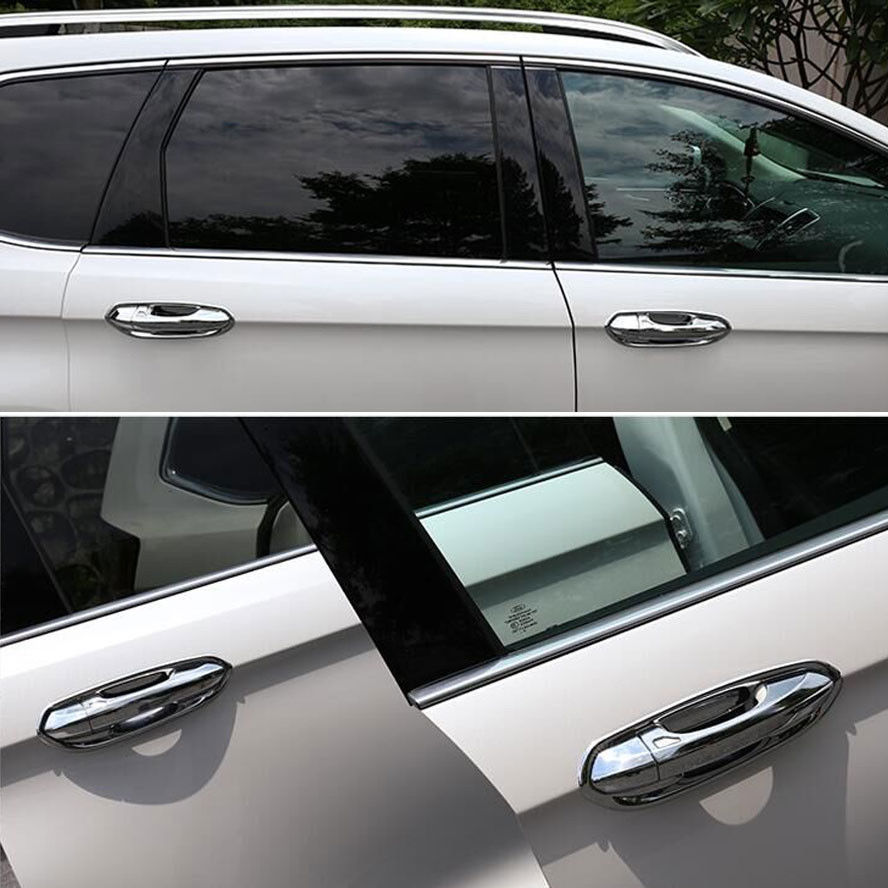 BBQ@FUKA 8x ABS Chrome Car Exterior Protect Door Handle Cover Handles Trim Sticker Fit For Ford Edge 2015-in Chromium Styling from Automobiles u0026 Motorcycles ... & BBQ@FUKA 8x ABS Chrome Car Exterior Protect Door Handle Cover ...