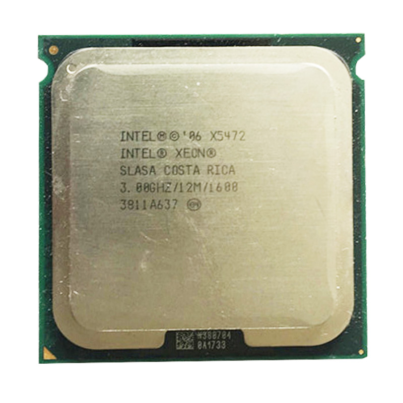 <font><b>INTEL</b></font> <font><b>X5472</b></font> processor 3.0GHz /LGA771 12MB L2 Cache Quad- server cpu fsb 1600 close to LGA775 Core 2 Quad Q9650 CPU image