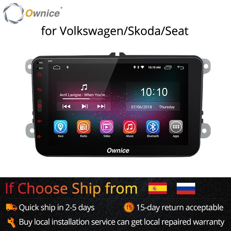 Ownice K1 K2 Android 8.1 hand frei bluetooth Universal 2 Din Auto Radio GPS für Volkswagen/Skoda/Seat